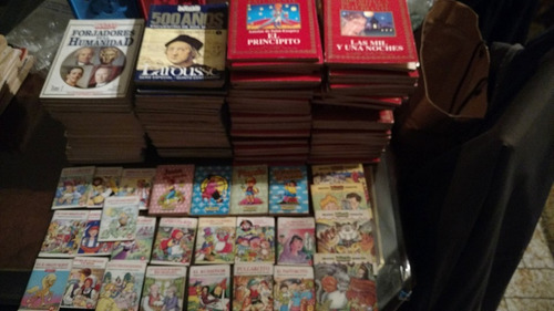 anteojito espectacular lote bibliotecas libros cuentos