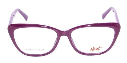 anteojo lente gafa receta heat 4497 lila optica mgi