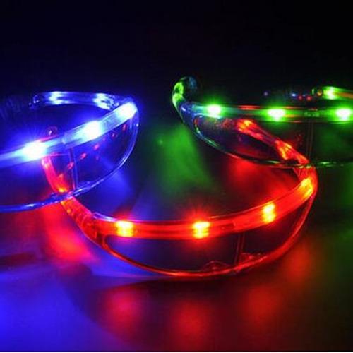 anteojo luminoso espacial led cotillon luminoso fiesta robot