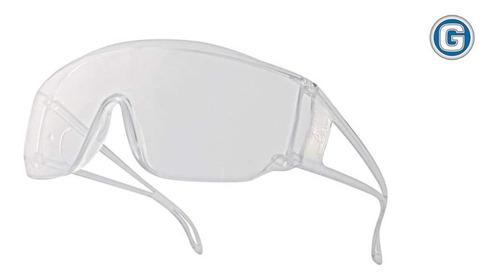 anteojos antiparra seguridad deltaplus piton2 clear transpar
