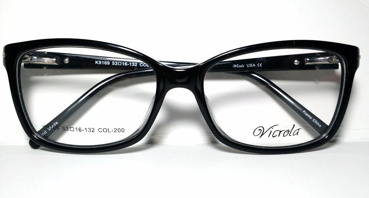 Anteojos Armazones Gafas Acetato Mujer Vicrola Usa - $ 1.290,00 en ...