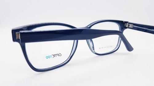 e6730946ab Anteojos Armazones Gafas Hombre Plastico Apto Receta - $ 650,00 en ...