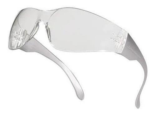anteojos de seguridad deltaplus brava2 trasnparente uv400
