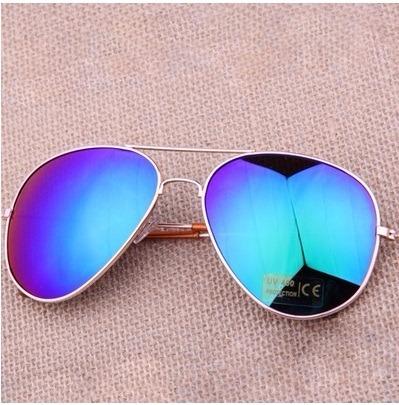 c70dd1c385 Anteojos De Sol Espejados Estilo Aviador. - $ 490,00 en Mercado Libre