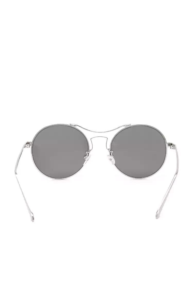 4955f87623 anteojos de sol espejados forever 21 redondos plateados. Cargando zoom.