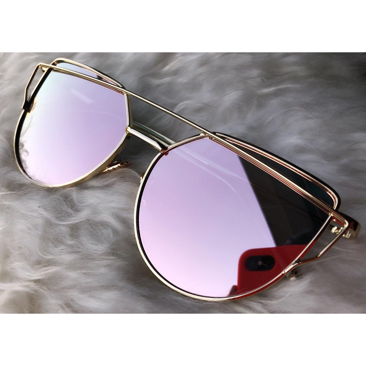 74fe592670 anteojos de sol espejados metal mujer rimland importados. Cargando zoom.