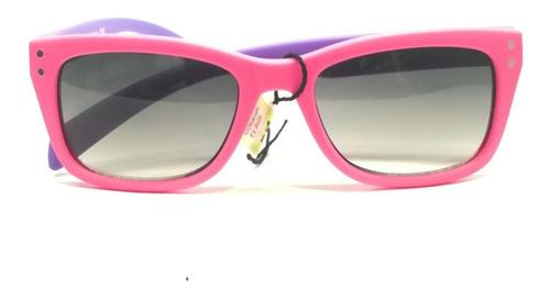 anteojos de sol gafas vulk kids diary niños niñas rosa