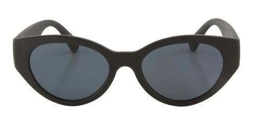 anteojos de sol infinit dublin negro mate lente gris medium