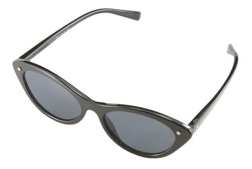 anteojos de sol infinit lisboa negro brillante lente negra