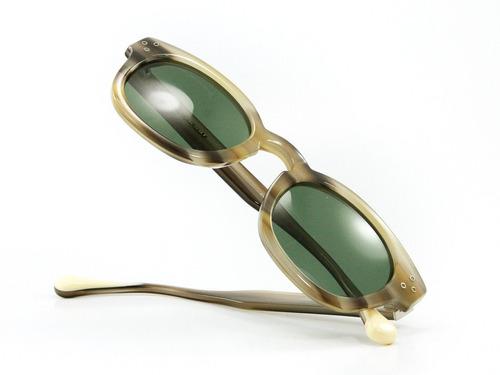 anteojos de sol infinit piscis wayfarer - brn.grn/g15