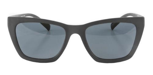 anteojos de sol infinit vienna negro mate lente gris