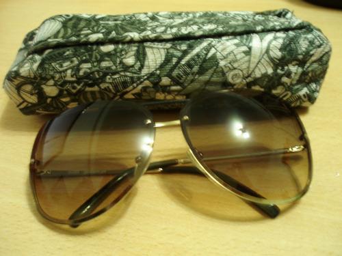 anteojos de sol infnit ulises gold/olive.grd