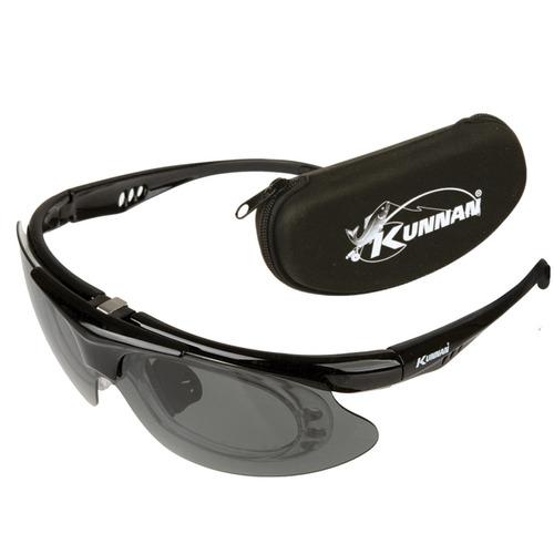 anteojos de sol kunnan 7121 lentes polarizados con estuche