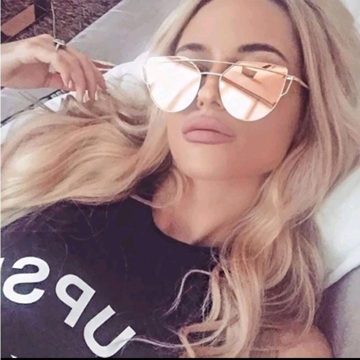 0fa5ac3972 Anteojos De Sol, Lentes Gafas Mujer Espejados Moda 2019 - $ 799,00 ...