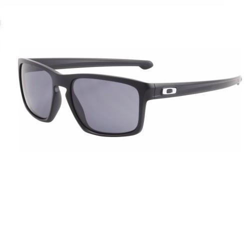 c73a072194 Anteojos De Sol Oakley Sliver 009262-01 Matte Black W  Grey ...