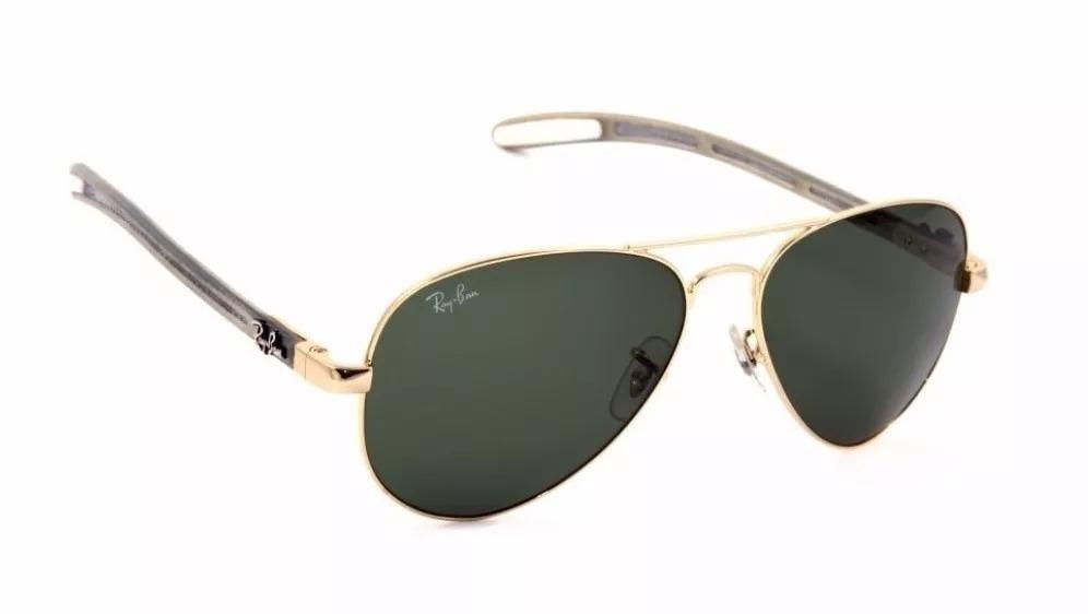 278df71e3198b ... denmark anteojos de sol original ray ban tech 8307 dorado verde.  cargando zoom. 2679f