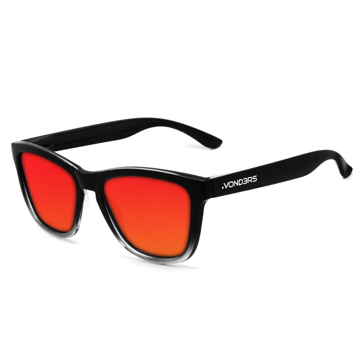 aeea4c7dde anteojos de sol polarizados uv400 vond3rs gradient rojos. Cargando zoom.