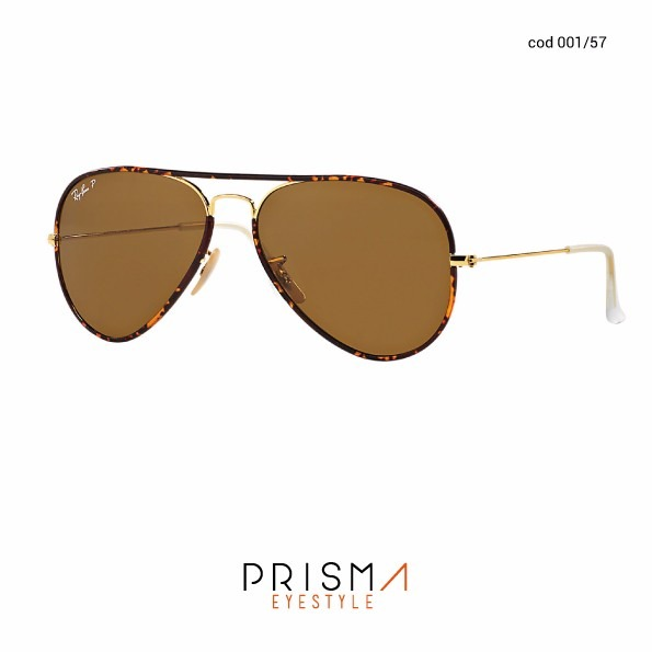 6ee10be8411ea Anteojos De Sol Ray Ban Aviator Full Color Polarizado 3025jm ...