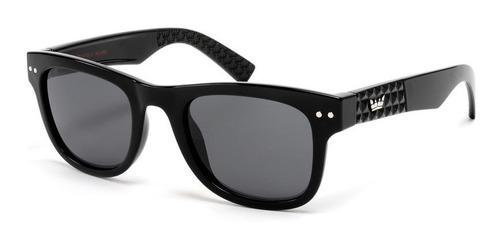 anteojos de sol vulk nyc gafas polarizado negro wayfarer