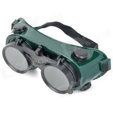 anteojos de soldar movil. solda pro 2 life
