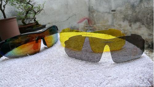 anteojos  estuche tactico  lente  intercambiable  polarizado