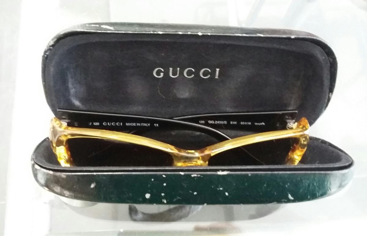 28f58f05a3 Anteojos Gafas De Sol Gucci Vintage - $ 3.000,00 en Mercado Libre