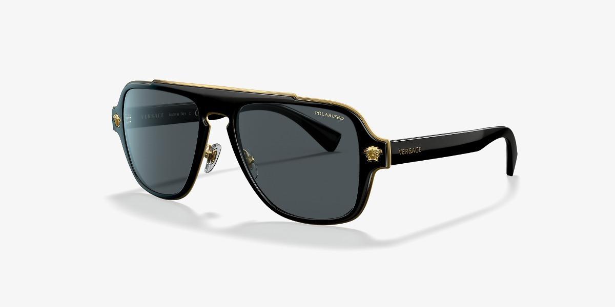 Lentes De Charm Gafas Versace Anteojos Sol Ve2199 Polarizado rdCxBoe