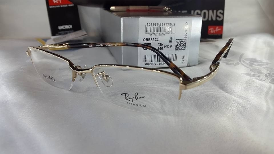 gafas ray ban titanium