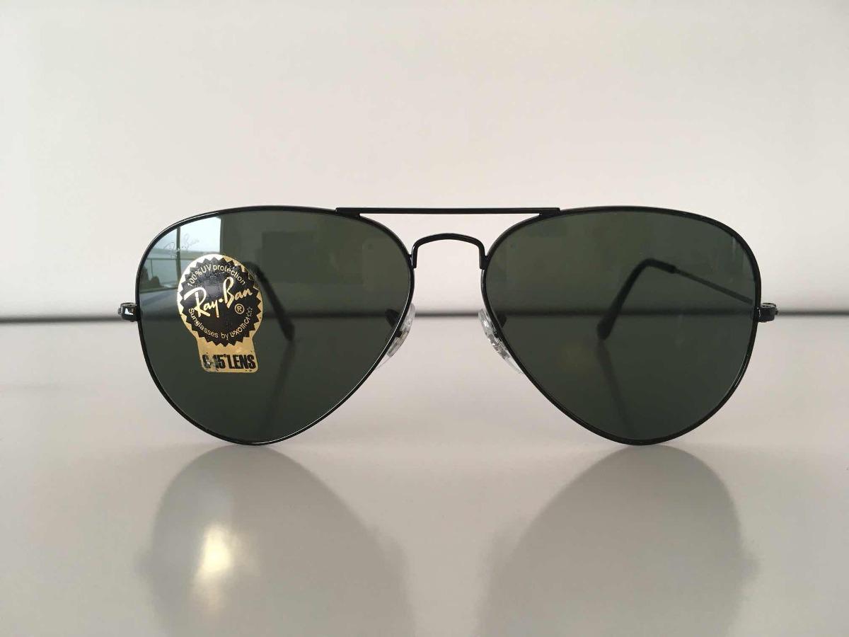 a82f657c4 Anteojos Gafas Ray Ban Aviator Negras Originales - $ 3.500,00 en ...
