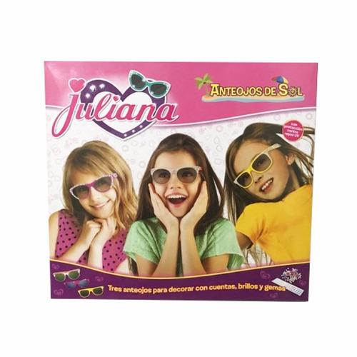anteojos juliana de sol para personalizar x3 unidades