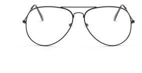 estilo único diseños atractivos mejor autentico Anteojos Lentes Armazon Aviador Transparente Vista Receta