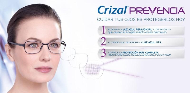 84c448e87 Anteojos Lentes Cristal Crizal Prevencia - $ 2.990,00 en Mercado Libre