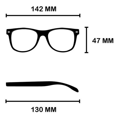 anteojos lentes de sol rusty the maker wayfarer gafas