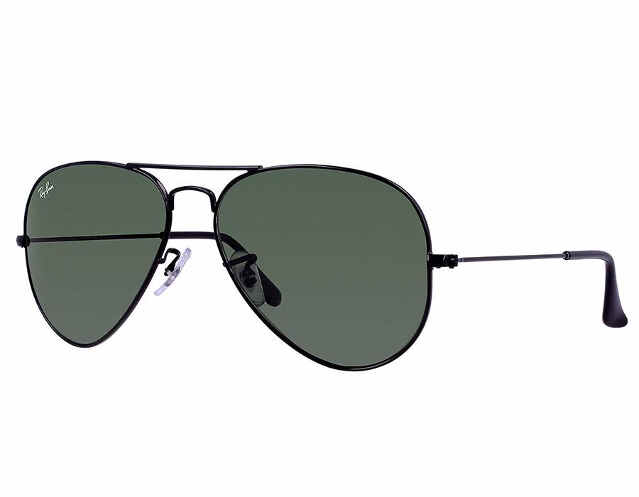 7b529285b Anteojos Lentes Ray-ban Aviator Negro Verde L2823 - $ 1.499,00 en ...