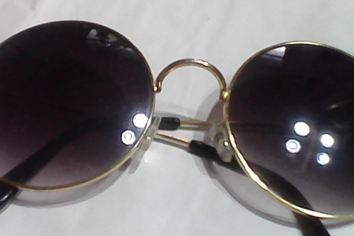34ce613c9f anteojos para sol armazon metalico dorado modelo lennon -. Cargando zoom.