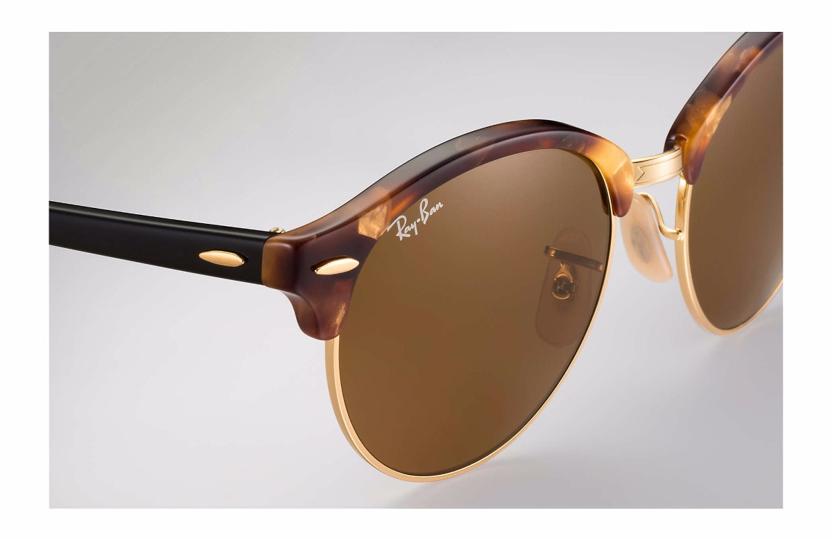 63a9a87a40 Anteojos Ray Ban Originales Clubround Rb4246 Marrones Carey ...