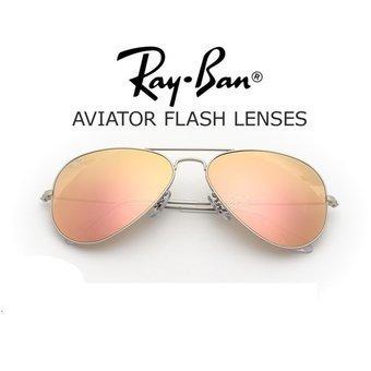 cea6b58ec5 Anteojos Ray Ban Aviador Espejado Rosa Plateado 019z2evotech ...