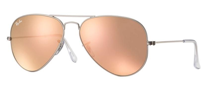 2d510134f2 anteojos ray ban aviador espejado rosa plateado 019z2evotech. Cargando zoom.