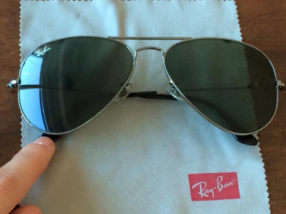26461c1a19 anteojos ray ban aviator clásico 3025 original lentes sol. Cargando zoom.