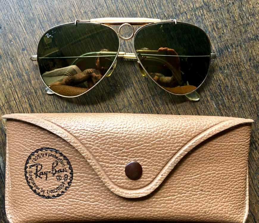 53ea545738 Anteojos Ray Ban Aviator Originales 100% Retro Vintage - $ 4.000,00 ...