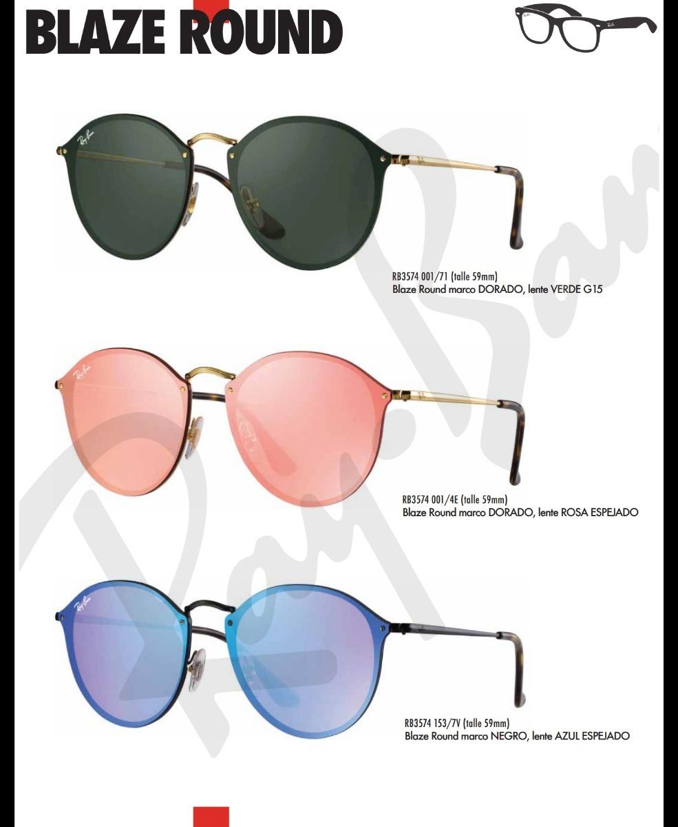 anteojos ray ban blaze round rb 3574 originales gafas sol. Cargando zoom. db381b9159