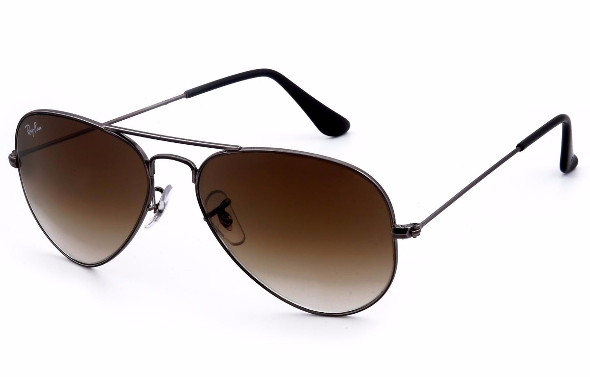anteojos ray ban originales aviador rb3025 marron degradé. Cargando zoom. 67bb60dd46