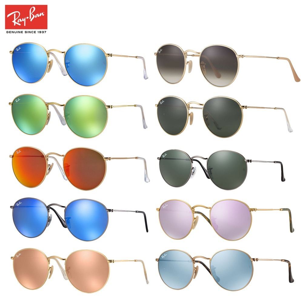 d2513d0d3c51a Anteojos Ray Ban Originales Round Metal Lennon Rb3447 G15 -   3.090 ...
