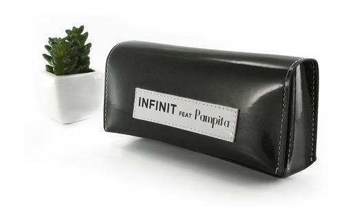 anteojos sol eight infinit by pampita - transparente