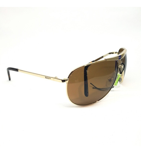 anteojos sol gafas rusty stylus 77 polarizado aviador optica