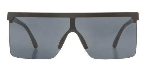 anteojos sol infinit berlin negro mate lente negra