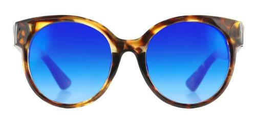 anteojos sol infinit by pampita biarritz carey lente azul