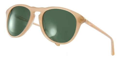 anteojos sol infinit by pampita edison beige lente verde