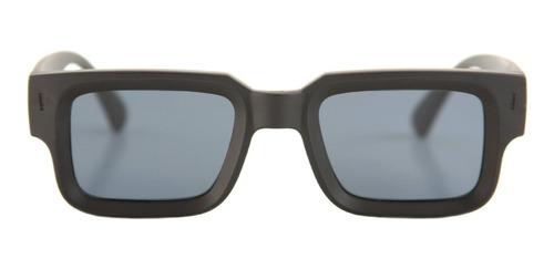 anteojos sol infinit exclamation negro mate lente gris