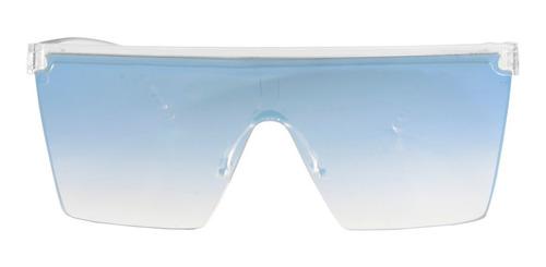 anteojos sol infinit moscow transparente lente espejada azul